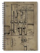 Traffic Signal Patent Spiral Notebook