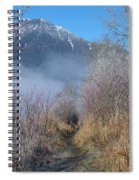 Trail At Grant Narrows Regional Park Spiral Notebook