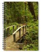 Trail Bridge Toketee 1 Spiral Notebook