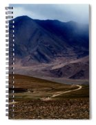 Trail Down From Muztagh Ata Spiral Notebook