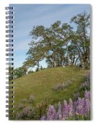 Trail Of Lupine Spiral Notebook