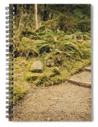 Trail Through The Moss Spiral Notebook