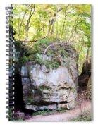 Trail Through The Rocks Wildcat Den State Park Spiral Notebook
