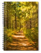 Trail Through The Woods Spiral Notebook