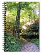 Trail To Devil's Punch Bowl Wildcat Den Spiral Notebook