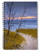 Trail To The Beach Spiral Notebook