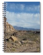 Trail To The Mountains Spiral Notebook