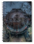 Train 2 Spiral Notebook
