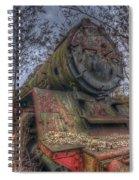 Train 4 Spiral Notebook