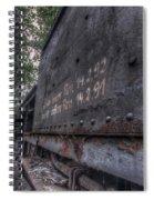 Train 8 Spiral Notebook