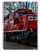 Train - Canadian Pacific 5690 Spiral Notebook