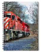 Train - Canadian Pacific Engine 5937 Spiral Notebook