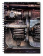 Train - Car - Springs And Things Spiral Notebook