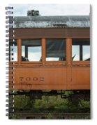 Train Coach Windows Spiral Notebook