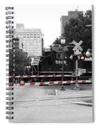 Train Crossing Spiral Notebook