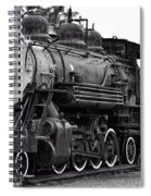 Train In Garibaldi Spiral Notebook