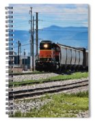 Train In The Mile High Spiral Notebook