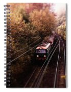 Train Spiral Notebook