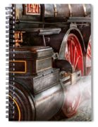 Train - Let Off Some Steam  Spiral Notebook