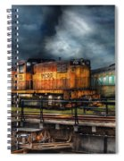 Train - Let's Go For A Spin Spiral Notebook