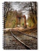 Train Memories Spiral Notebook