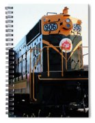 Train Museum - End Of The Line - Canadian National Railway Spiral Notebook