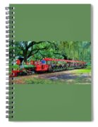 Train - New Orleans City Park Spiral Notebook