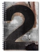 Train Number 2 Spiral Notebook