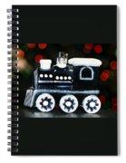Train Ornament Spiral Notebook