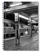 Train Passing Spiral Notebook