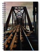 Train Rail Bridge  Spiral Notebook