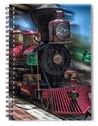 Train Ride Magic Kingdom Spiral Notebook