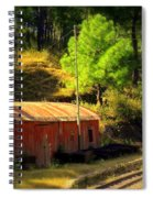 Train Shed Spiral Notebook