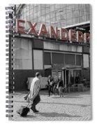 Train Station Alexanderplatz Spiral Notebook