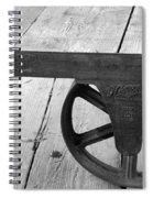 Train Station Cart Spiral Notebook