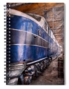 Train - The Maintenance Facility  Spiral Notebook
