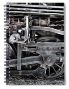 Train - The Wheels Are Turning  Spiral Notebook