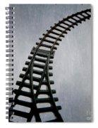 Train Tracks Spiral Notebook
