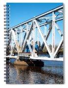 Train Trestle Spiral Notebook