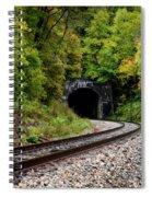 Train Tunnel Spiral Notebook
