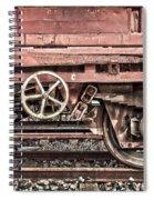 Train Wagon Spiral Notebook