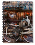 Train - With Age Comes Beauty  Spiral Notebook