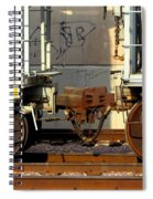 Train Yard Close Up 5 Spiral Notebook
