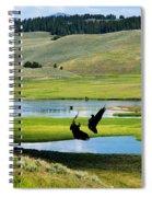 Training Ground Eagles Spiral Notebook