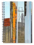 Trains And Coal Mining Spiral Notebook