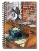 Trains - Station Master's Office Spiral Notebook