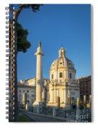 Trajans Column - Rome Spiral Notebook