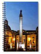 Trajan's Column Spiral Notebook