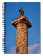 Trajans Column Spiral Notebook