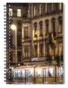 Tram Night Spiral Notebook